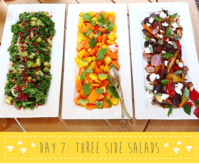 12 Days of MNB XMAS - Day 7 Three Side Salads - Move Nourish Believe