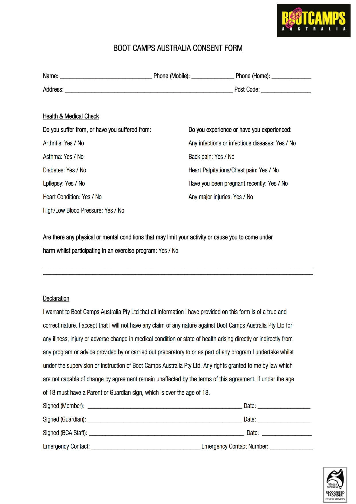 download job application form for boots
