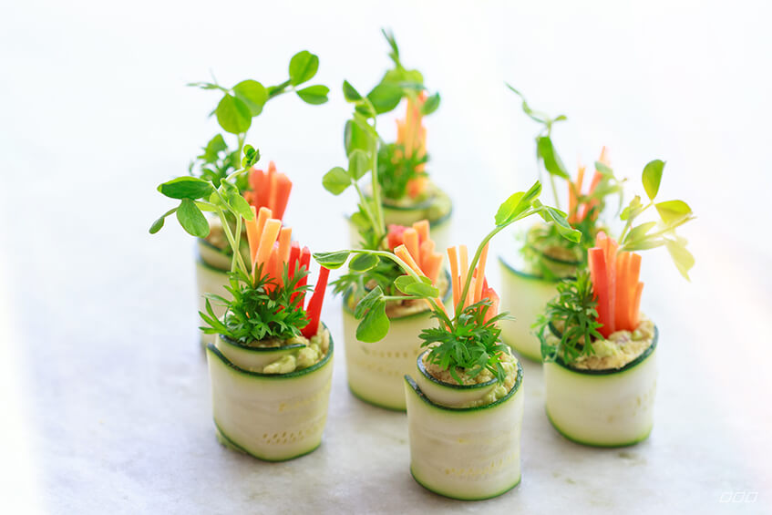 Hors d 39 oeuvres on pinterest canapes smoked salmon and for Canape vegan