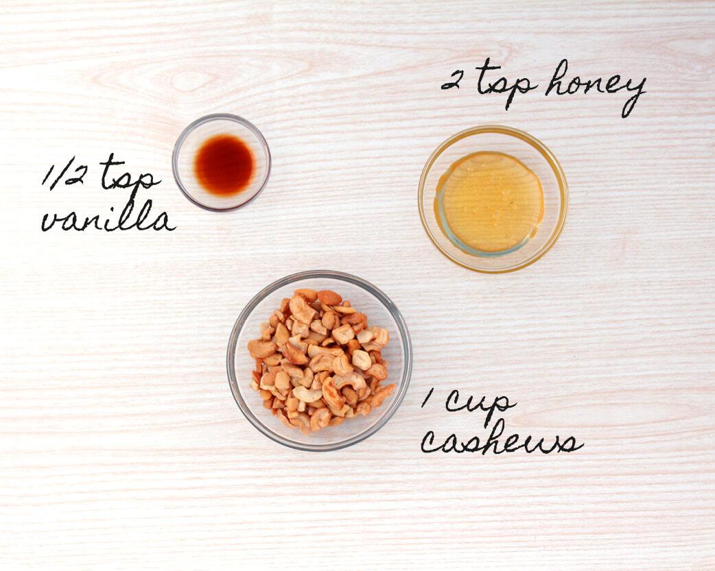 Honey Vanilla Cashew Nut Butter Recipe