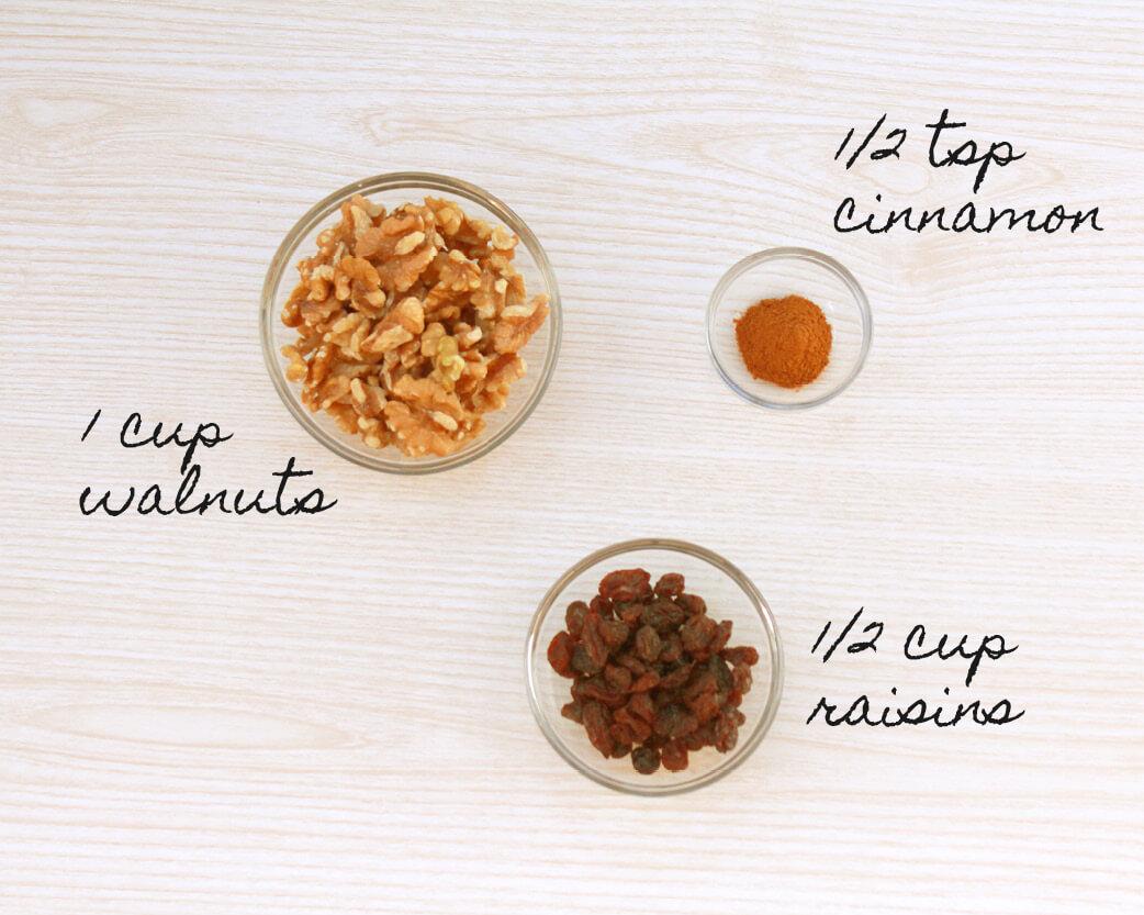 Cinnamon Raisin Walnut Butter Recipe
