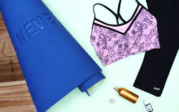 A Simple DIY Homemade Yoga Mat Cleaner