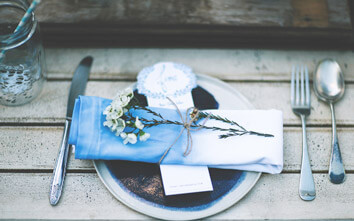 DIY It: How To Make Ombre Dip Dye Napkins