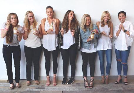 How LJ Girls Take Their Peanut Butter