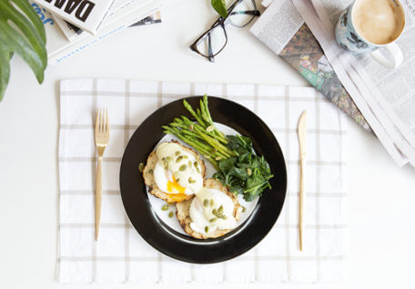 Paleo Eggs Benedict for Dad