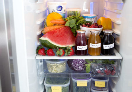 Want to look in Lorna Jane's fridge?