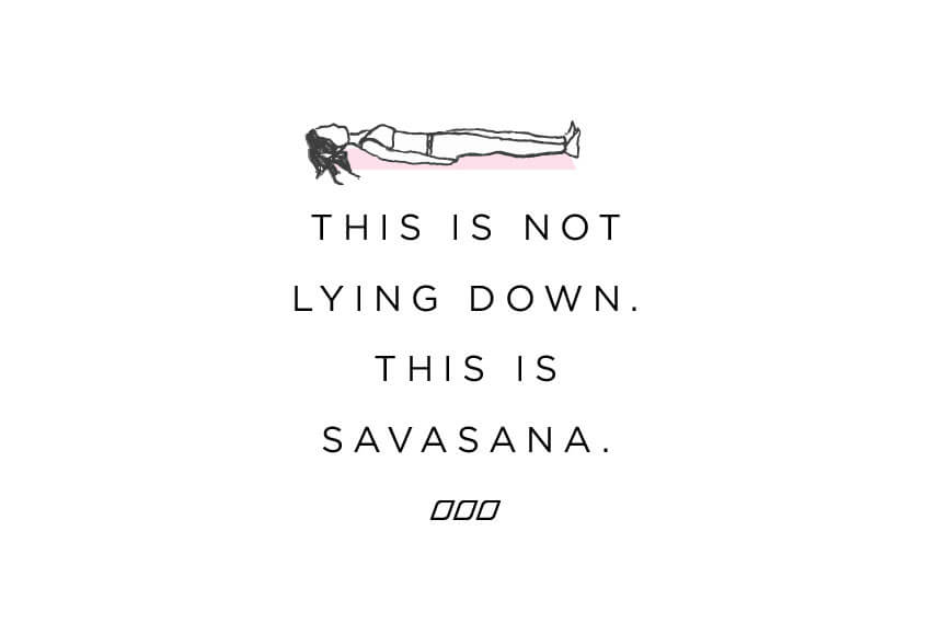 Is Savasana the HARDEST yoga pose? - Move Nourish Believe