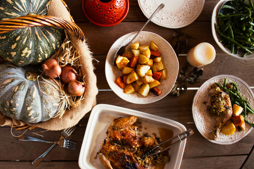 A Healthy Thanksgiving Feast Move Nourish Believe