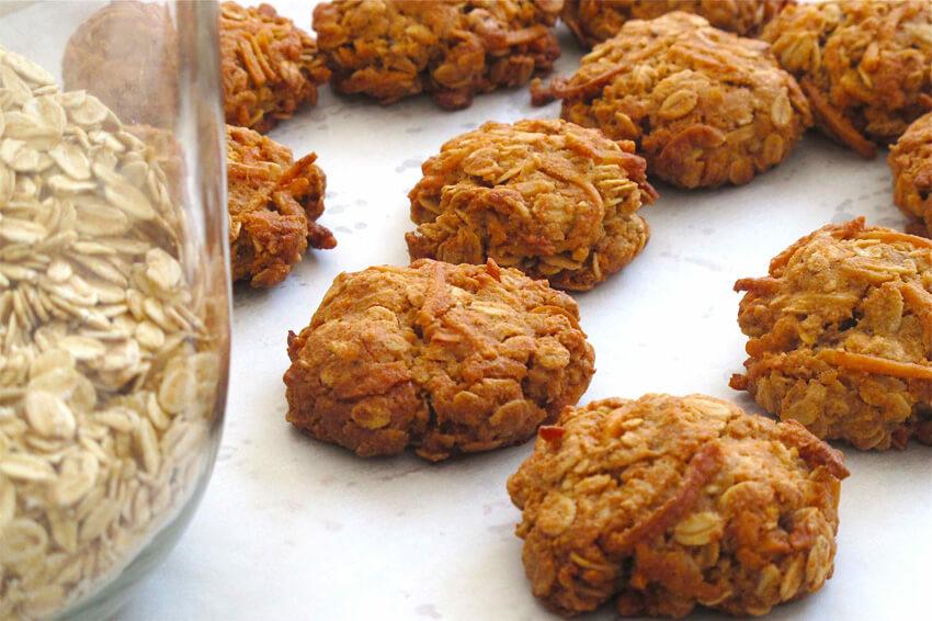 Vegan Anzac Biscuits