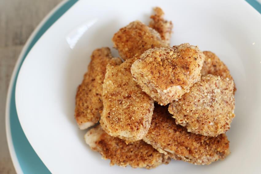 5 Ingredient Paleo Chicken Nuggets