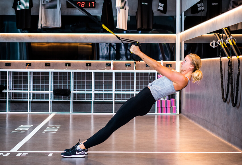 Have you tried a TRX workout?