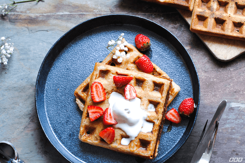 Wow mum with these gluten-free waffles