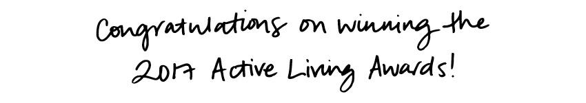 Meet the Tone It Up Girls - Active Living Award Winners