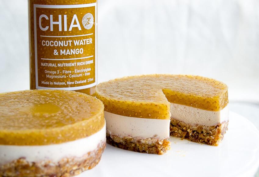 Coconut Chia Tarts