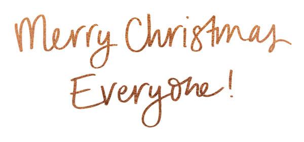 Merry Christmas - Love, Lorna x