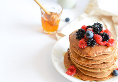 Overnight Smoothie Pancake & Spiced Coconut Butter
