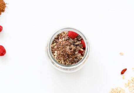 Overnight Crunchy Cacao Oats