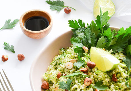 St. Patrick's Day Green Rice
