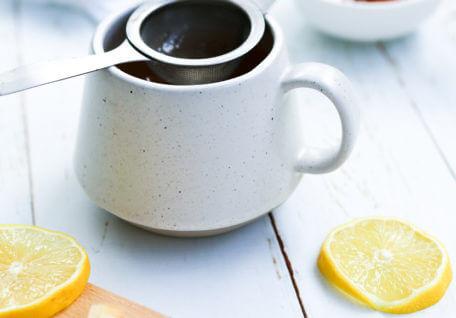 Winter Warmer – Lemon and Ginger Tea