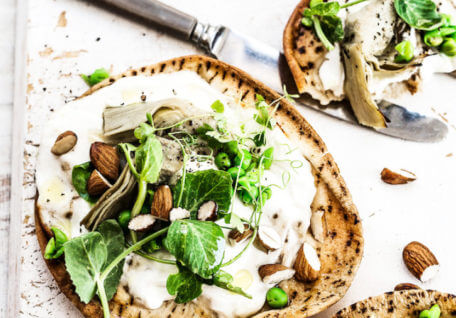 10 Minute Healthy Pitta Pizza