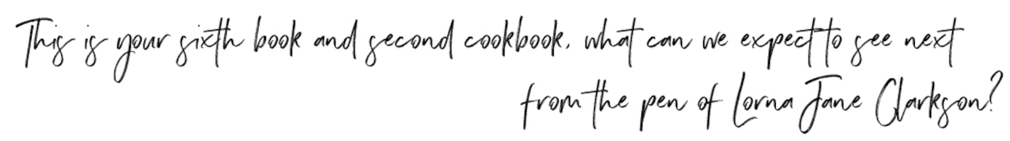 Why I Wrote EAT GOOD FOOD