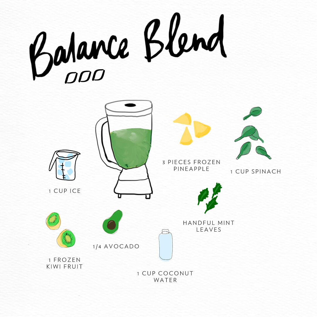 3 Super Smoothie Blends - Energy, Balance & Glowing Skin