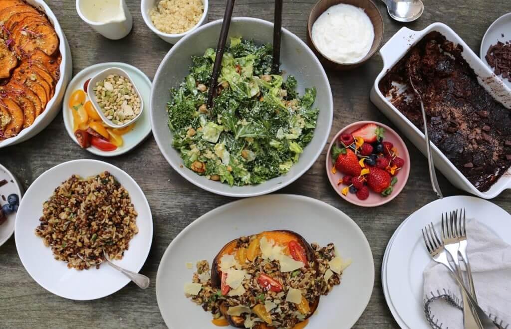 Epic Thanksgiving Feast (Veggie Friendly!)