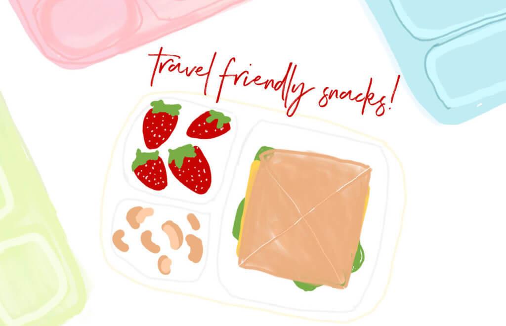 Healthy Travel Friendly Snacks