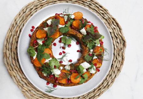 Moroccan Spiced Vegan Nut Loaf