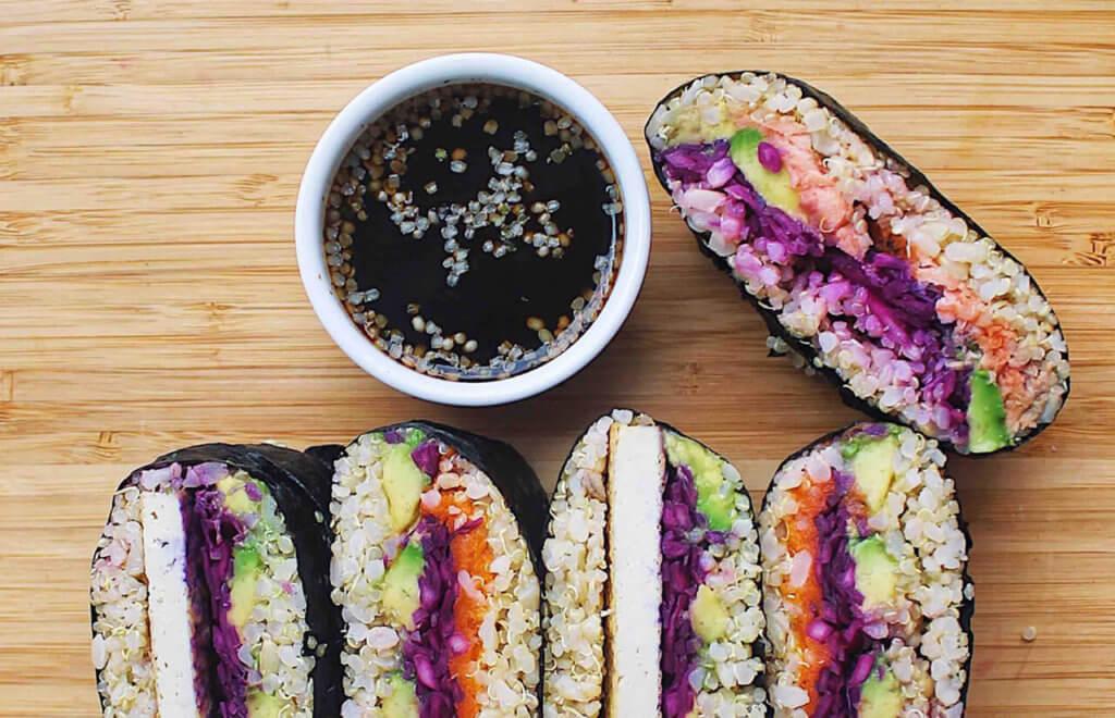 Sushi Sandwiches