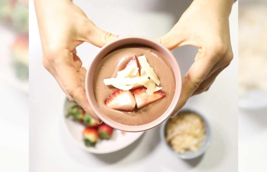 Chocolate Protein Mousse (vegan friendly!)