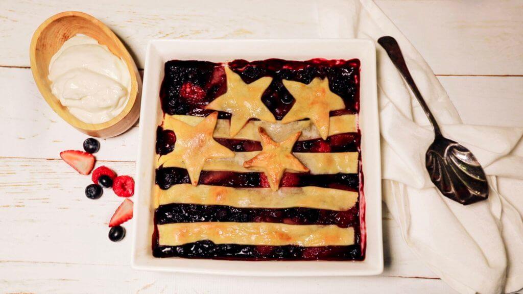 Easy American Berry Pie