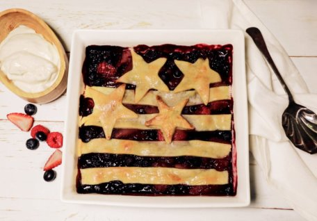 Easy American Berry Pie
