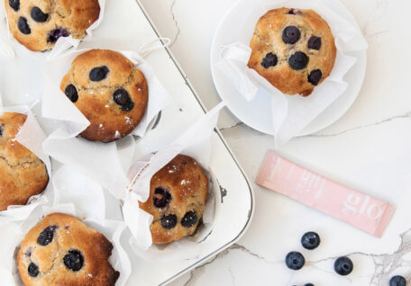 blueberry and collagen muffin recipe