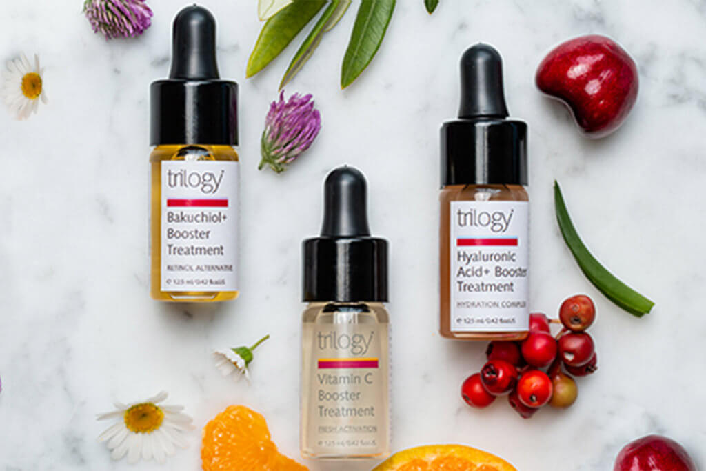 trilogy booster series treatment supercharge your skincare routine