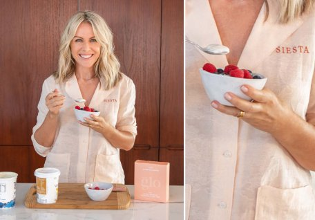 Lorna Jane Clarkson On The Glo collagen